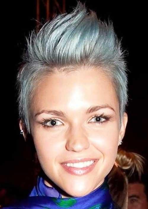 Trendy Pixie Hair Color Ideas