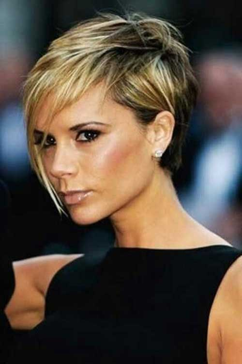 Trendy Blonde Pixie Haircuts 2015