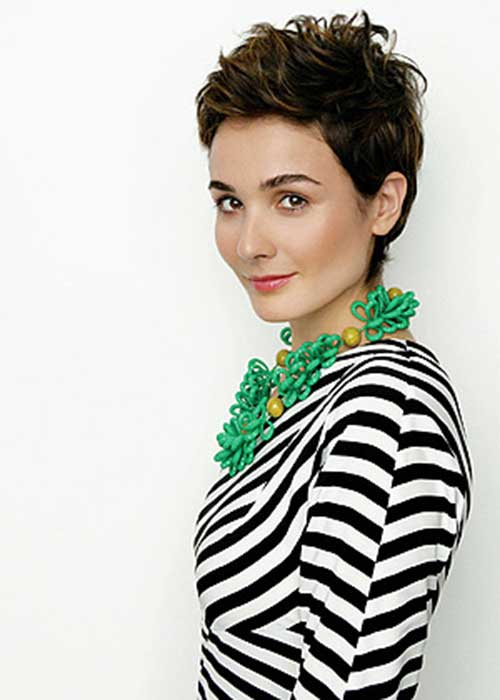 Trendy Tousled Fine Pixie Ideas