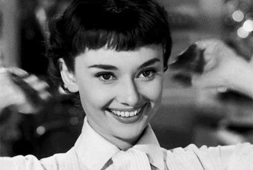 Audrey Hepburn Cute Pixie Hair
