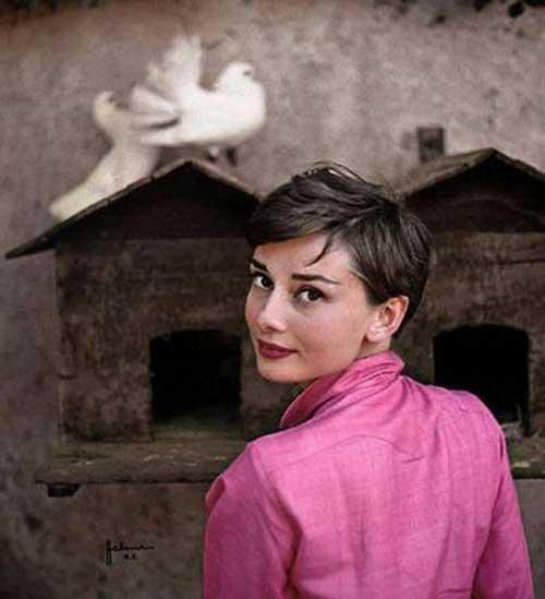 Best Audrey Hepburn Pixie Cut