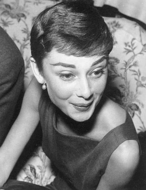 Audrey Hepburn Chic Pixie Haircut