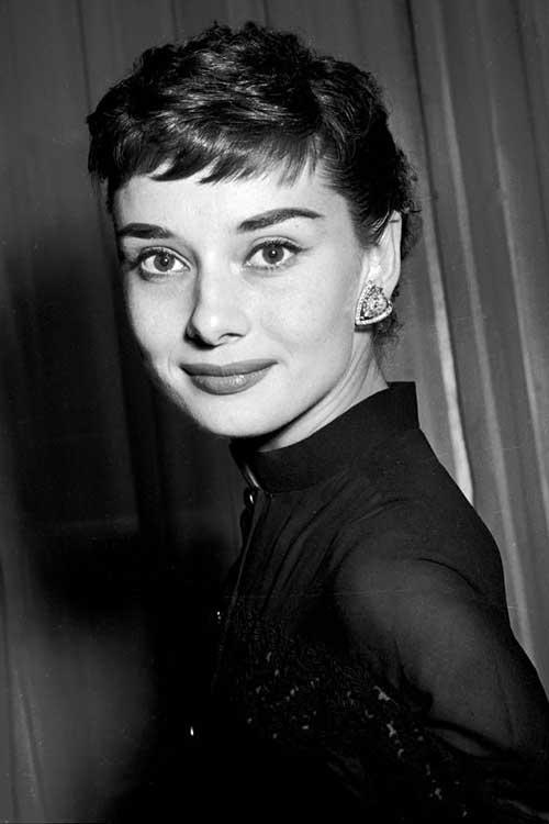 Audrey Hepburn Short Pixie