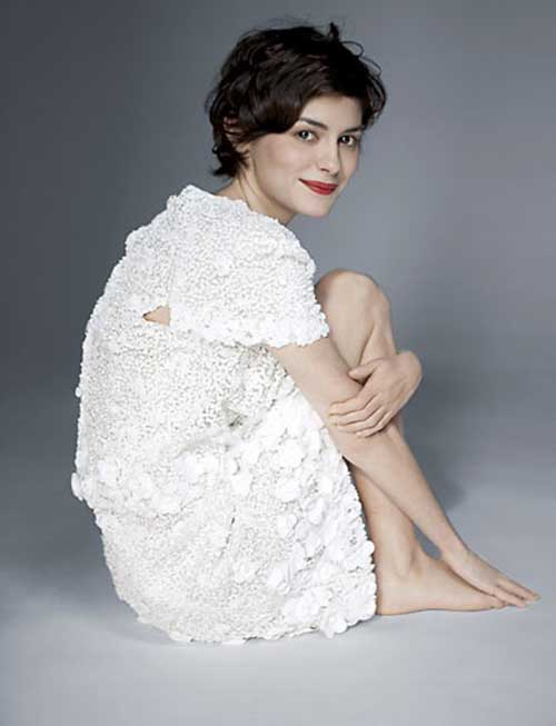 Audrey Tautou Pixie Cut Hair