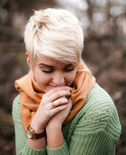 Blonde Pixie Hairstyles