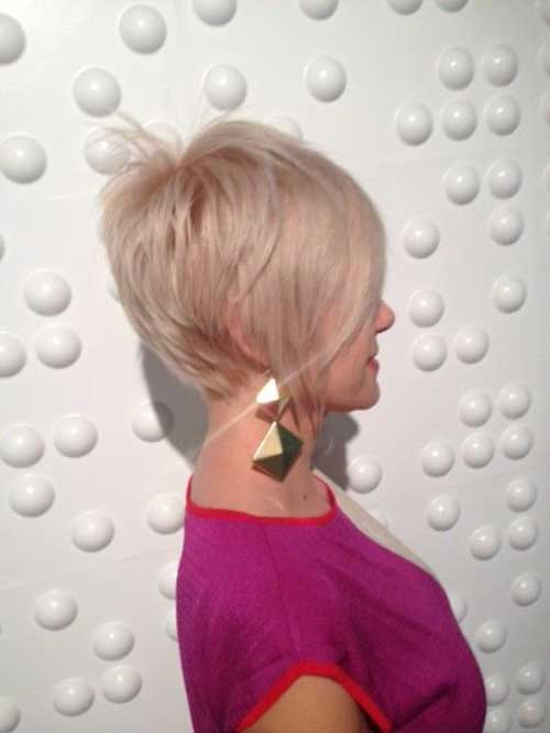 Blonde Long Pixie Haircuts