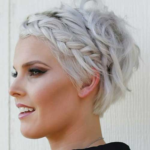 Braided Long Pixie Hairstyles