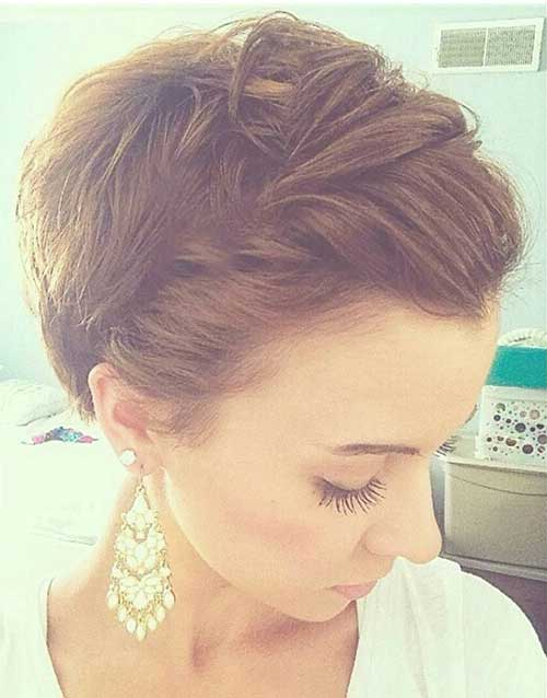 Braided Pixie Cut