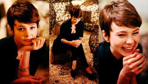 Carey Mulligan Cute Brown Pixie