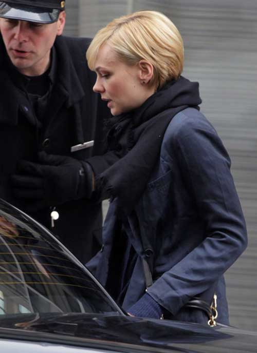 Carey Mulligan Pixie Side View