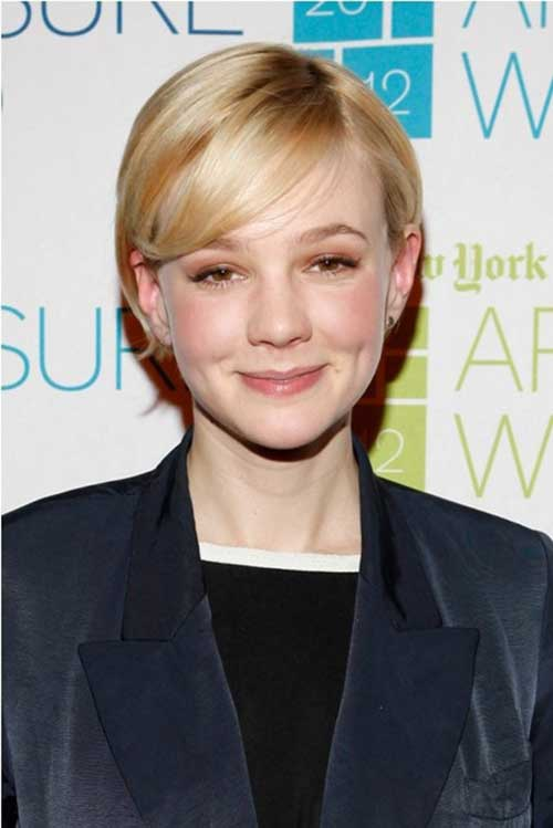 Best Carey Mulligan Pixie for Straight Hair