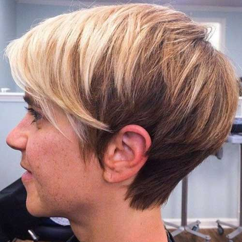 Casual Long Pixie Haircuts 2015