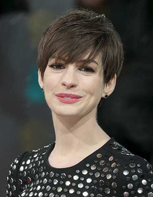 Celebrities Cute Pixie Hair Cuts
