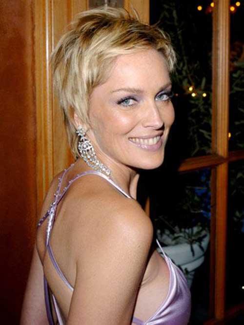 Chic Celebrities Pixie Cut