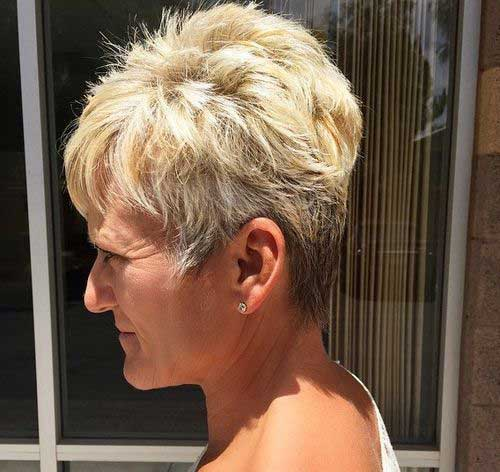 Chic Pixie Haircuts for Women Over 50