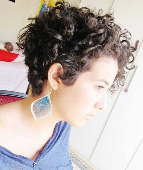 Latest Curly Pixie Hair Cuts