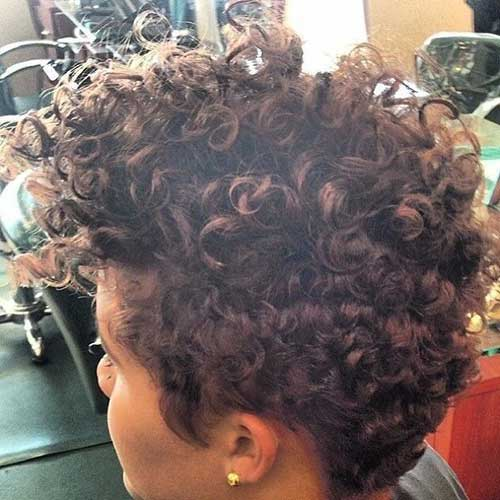 Curly Thick Pixie Hair Cuts