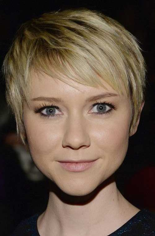 Cute Blonde Pixie Cut Color Ideas 2015