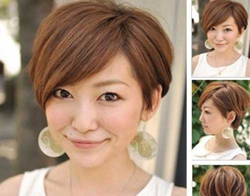 Cute Pixie Haircut for Oval Face