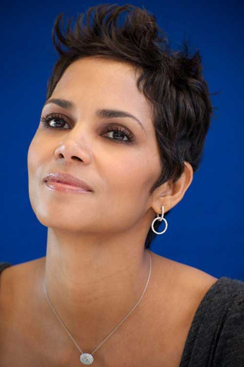 Halle Berry Pixie Cut Hairstyles