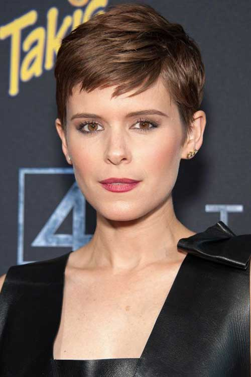 Kate Mara Pixie Crop Hair