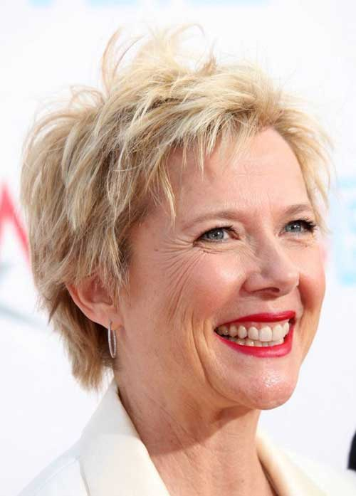 Layered Pixie Haircuts for Women Over 50