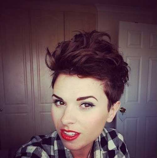 Messy Pixie Hair 2015