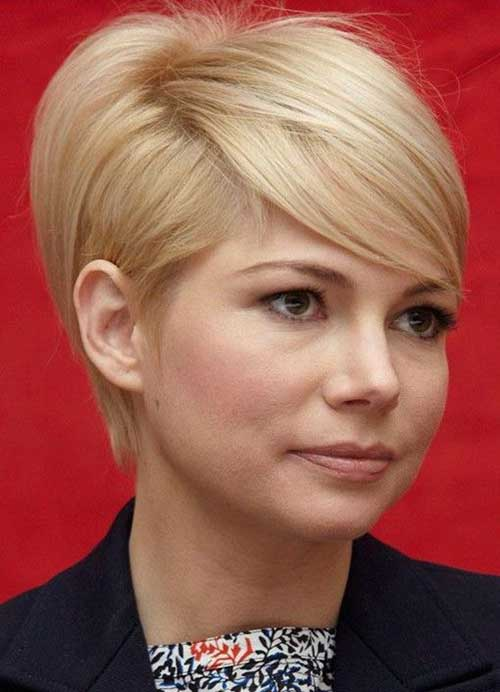 Michelle Williams Long Pixie Hairstyles