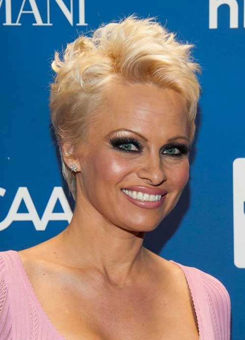 Pamela Anderson Short Pixie for Women Over 50