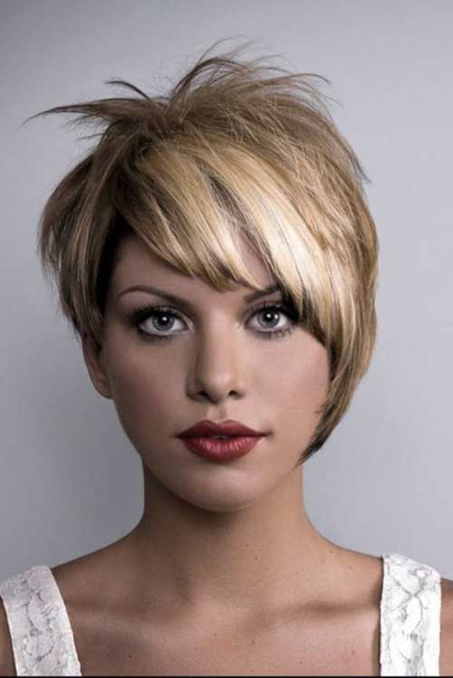Pixie Asymmetrical Blonde Hair Cuts