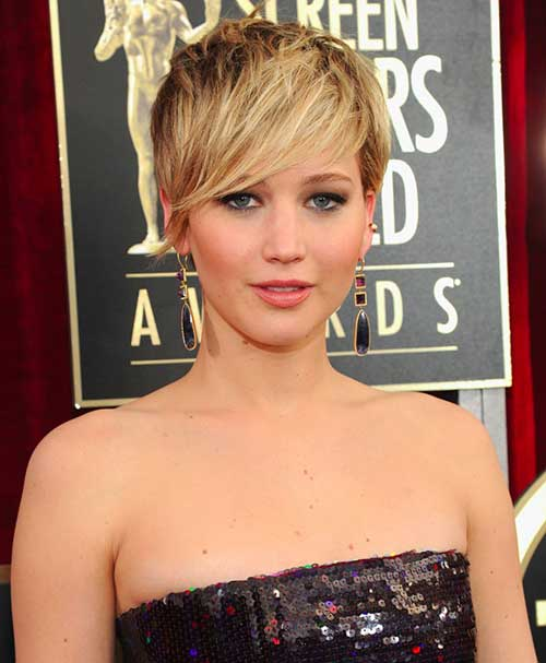 Pixie Cut Hair Blonde Color Ideas