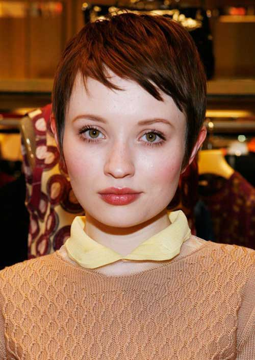Red Pixie Cut Hair Color Ideas