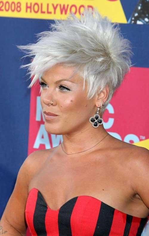 Pixie Cut Silver Color Ideas