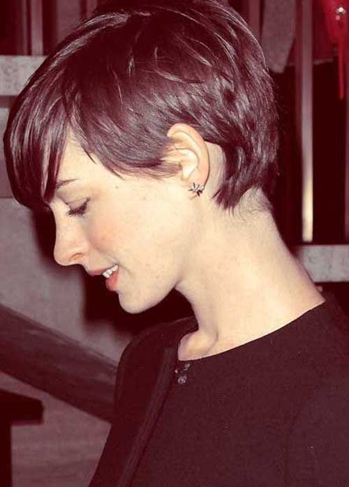 Latest Pixie Hair Cuts with Bangs