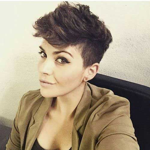 Pixie Thick Hairstyle
