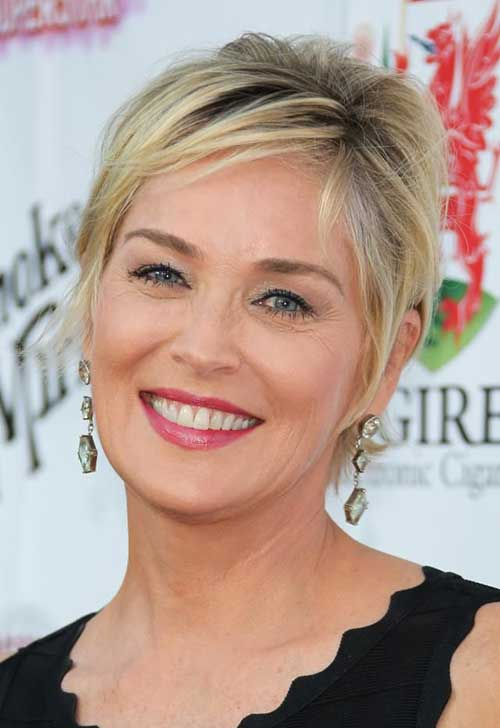 Sharon Stone Pixie for Women Over 50