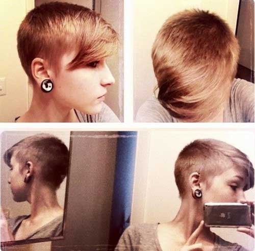 Shaved Pixie Haircuts Style