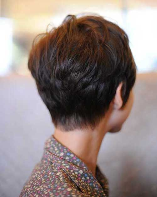 Short Pixie Haircuts Back View Pictures