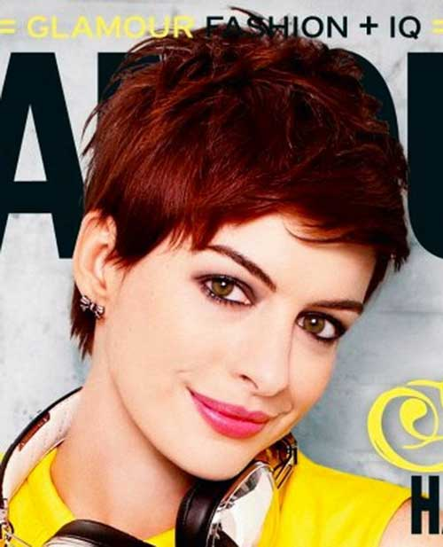 Best Short Red Pixie Cut