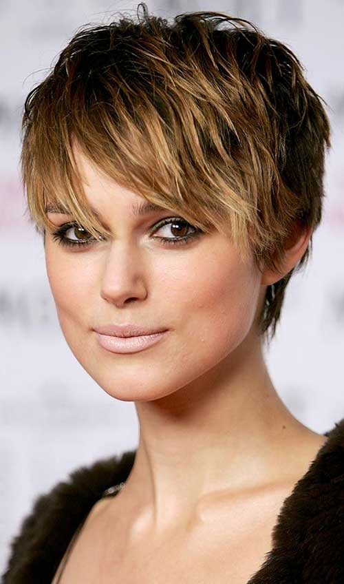 Short Straight Pixie Hairstyles