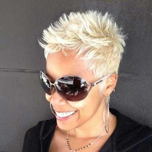 Spiky Pixie Haircuts