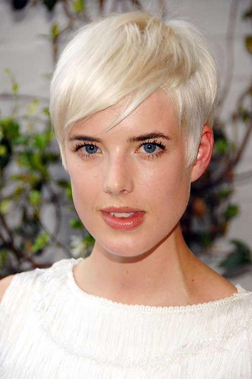 Straight Pixie Crop Hairstyles