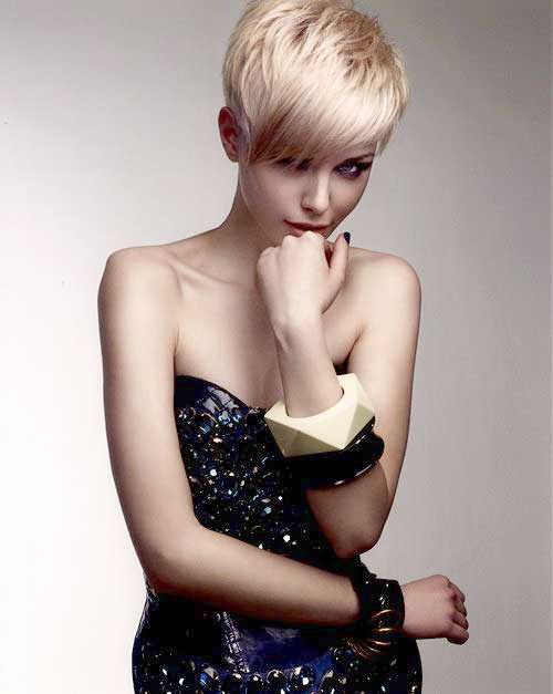 Straight Pixie Haircuts Pictures