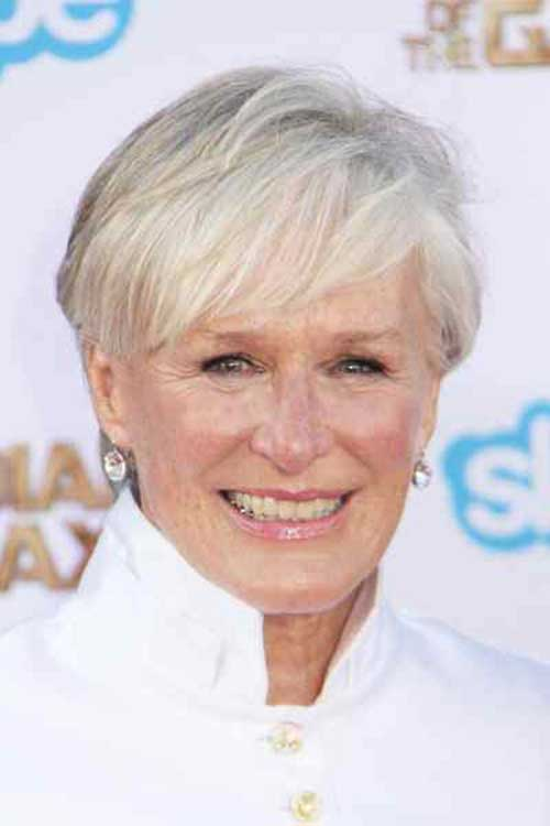 Straight Pixie Haircuts for Women Over 50