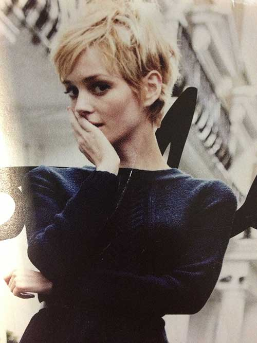 Super Pixie Cut Hair 2015