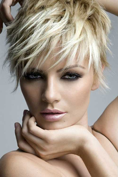 Trend Blonde Pixie Hairstyles 2015