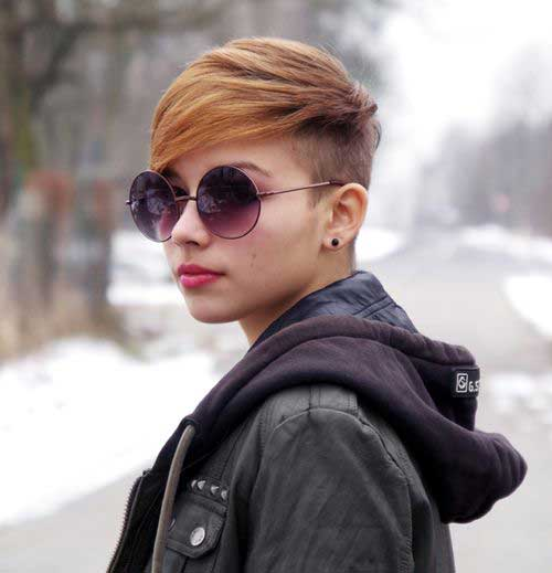 Trendy Pixie Color Ideas