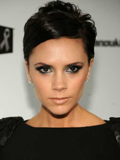 Victoria Beckham Classy Pixie Cut