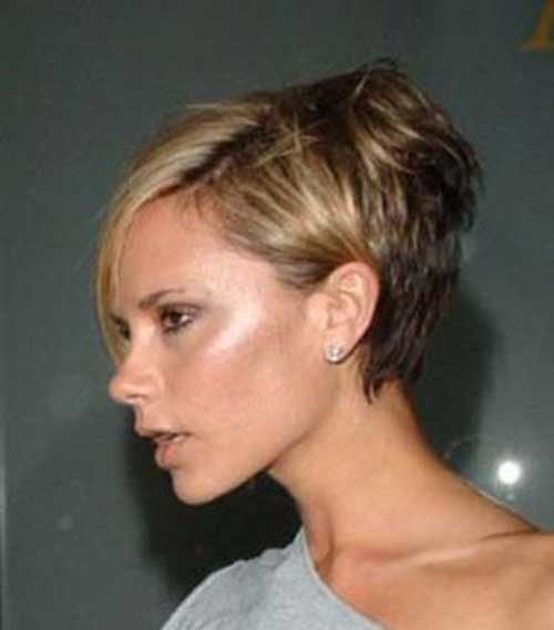 Victoria Beckham Graduated Pixie Cut