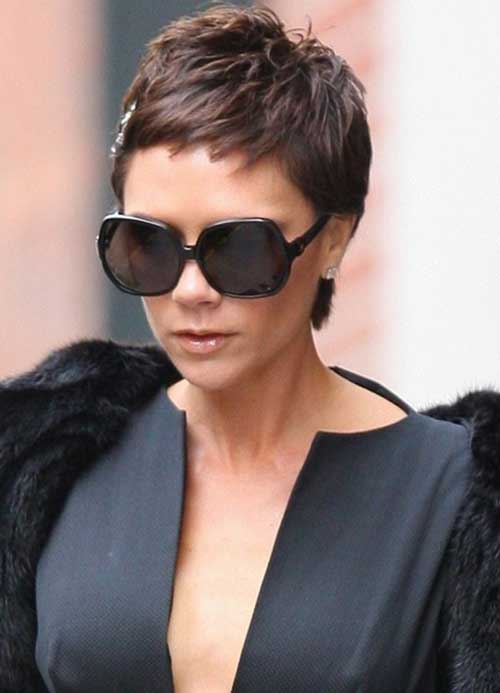 Victoria Beckham Old Pixie Cut 2009